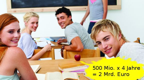 2 Mrd für Schulen