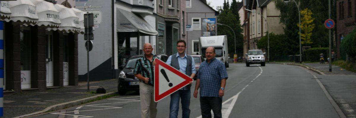 Tempo 30 in Wengern, Antrag der SPD-Fraktion zum UVA 1/17