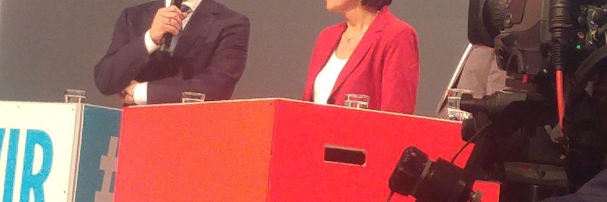 Alt-Wetteraner beim Wahlkampfauftakt in Essen