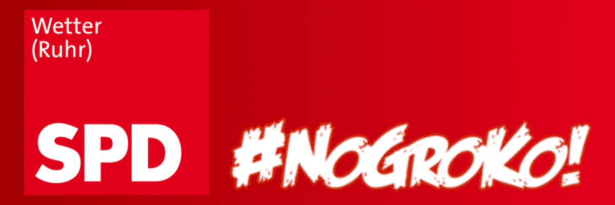 SPD Wetter sagt Nein zur GroKo!