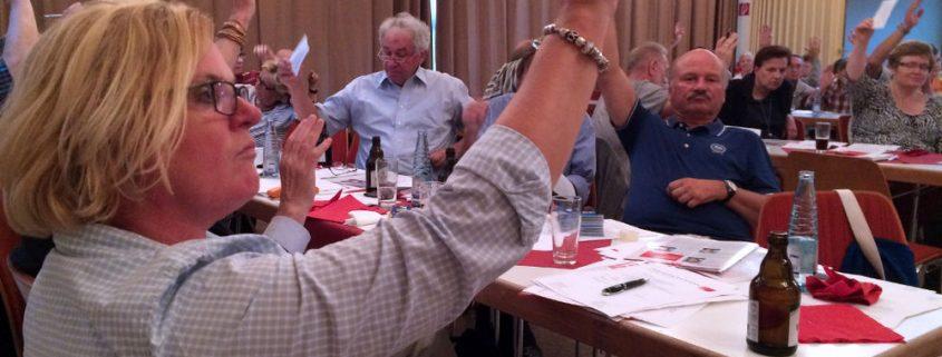 SPD Parteitag 21-08-2015 Abstimmung