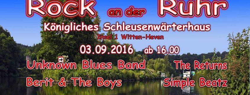 Rock an der Ruhr 2016