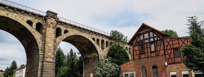 Viadukt Stadtilm Thüringen